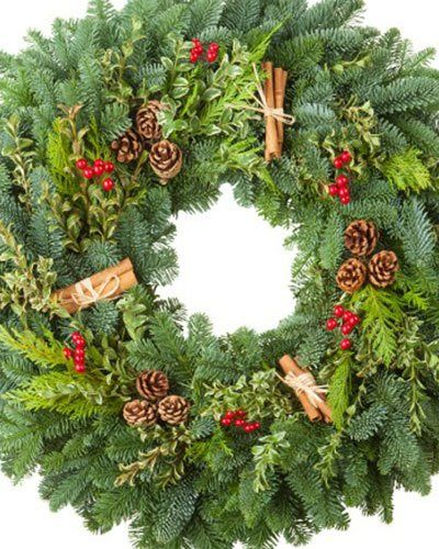 fresh wreaths from oregon - Fresh Christmas Greenery