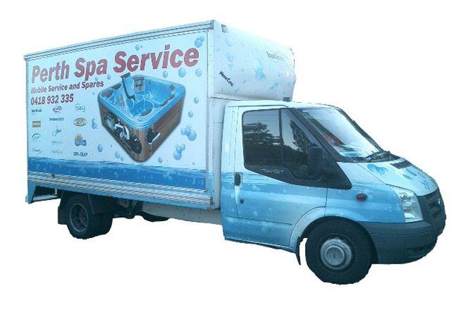 Perth Spa Service truck