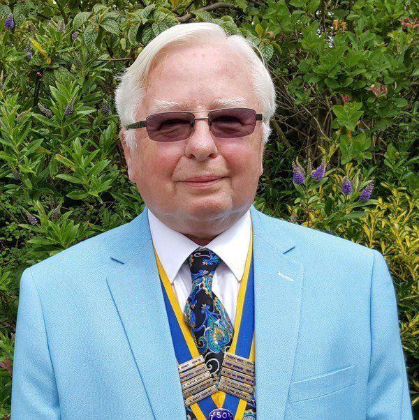 Patrick Wroe - Felixstowe Rotary Club President