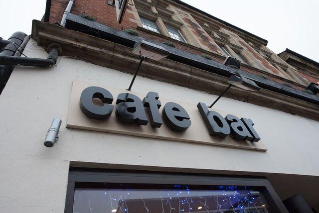 Enigma cafe exterior