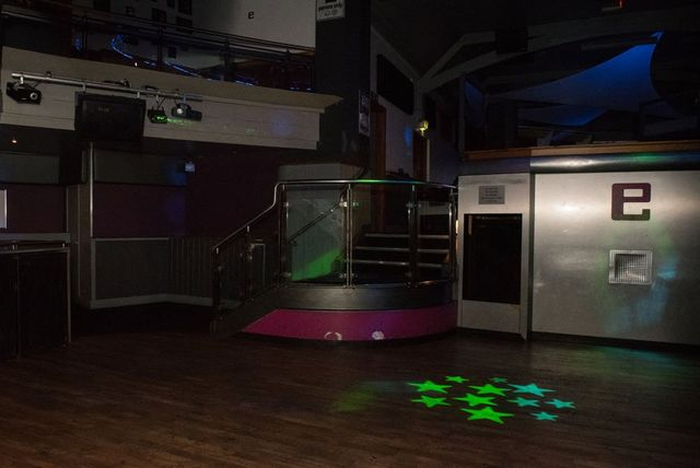 Dance floor of Enigma Cafe