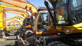 Construction machinery - Middlesbrough, North Yorkshire - Laverick Plant Hire