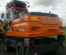 Plant machinery - Middlesbrough, North Yorkshire - Laverick Plant Hire