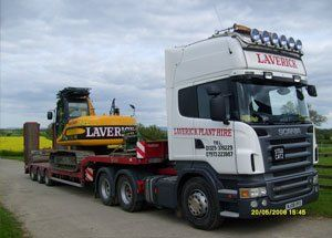 Low loader - Middlesbrough, North Yorkshire - Laverick Plant Hire - JCB