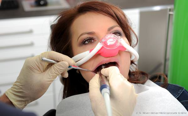 Praxis-Marketing Zahnarzt Lachgas-Sedierung