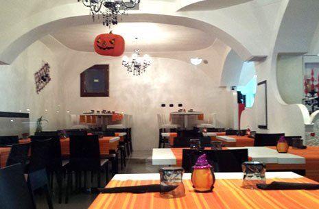 Interno della pizzeria Il Salsero a Olbia-Tempio