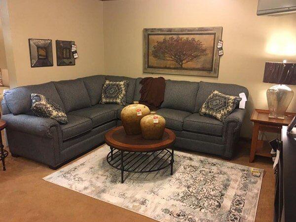 Gray Sofa   Quality Furniture In Wichita, KS