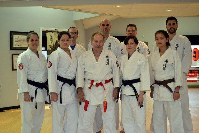 Virginia okinawan karate dojo members
