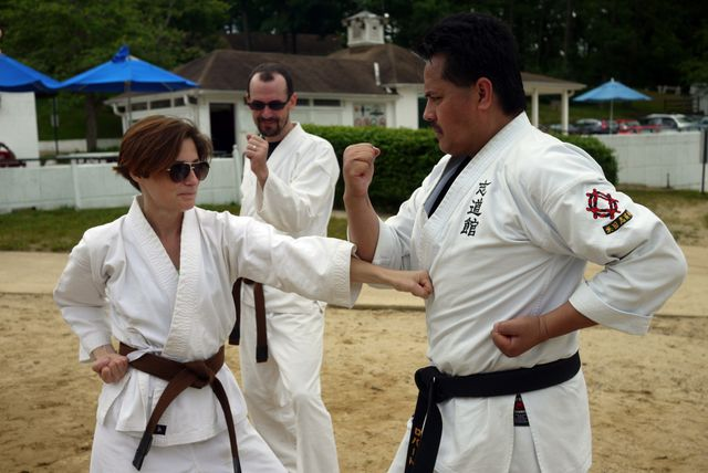 virginia okinawan karate dojo at lake