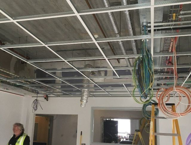 Suspended Ceiling Installation