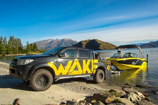 Wake Wanaka Boat