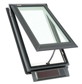 Residential solar powered fresh air skylights nss ext for Velux fresh air skylight