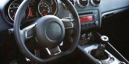 volante dell'auto