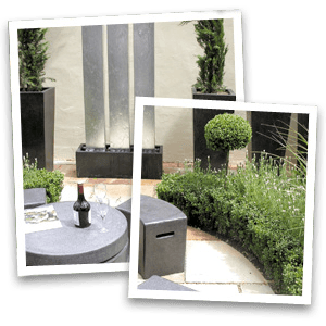 Garden project - Stockport - Collins Landscapes Ltd - modern garden