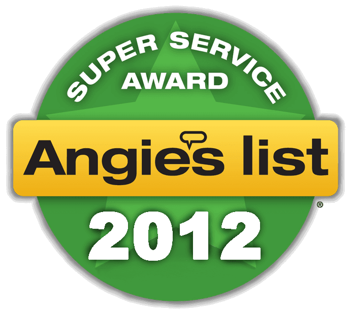 Angies List super service award 2012 Massachusetts