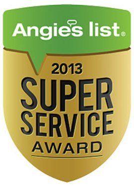 Angies List super service award 2013 Massachusetts