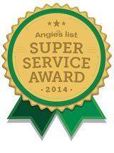 Angies List super service award 2014 Massachusetts