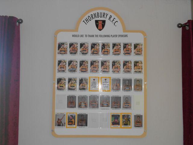 Internal sign board