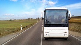 autobus con autista, autobus con aria condizionata