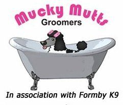 Mucky Mutts Groomers logo