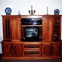 TV cabinet custom furniture designed