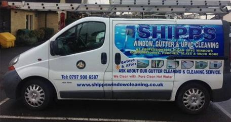 Shipps cleaning van
