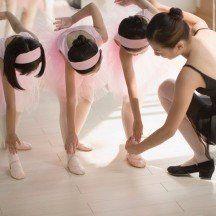 danza classica per ragazze, lezioni di danza, completi per danza