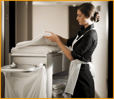pulizia struttura alberghiera
