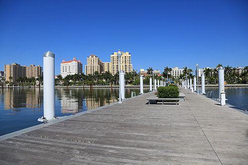 High quality dock in progress in Dayton, MT
