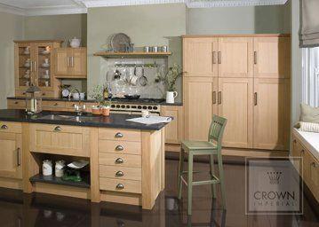 natural oak Oakley kitchen