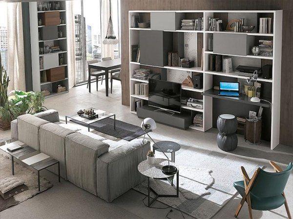 allestimento area living design