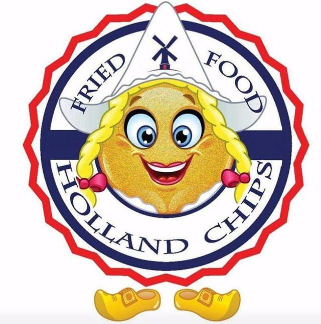 logo Fried Food Holland Chips