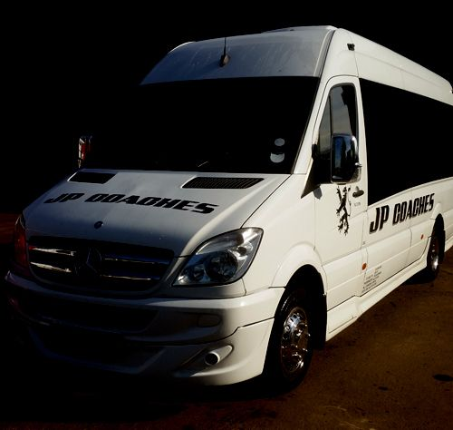 A mini JP coach fleet available for hiring in Forfar, DD8 1TD