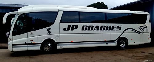 JP coach available for private hire in Forfar, DD8 1TD
