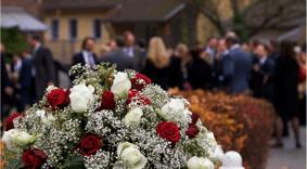 funerale addobbo floreale