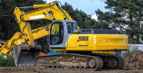 Excavators clearing land for your lot in Chillicothe, OH