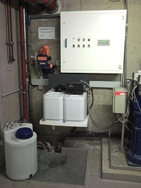 Legionella Control at a care home using the Aquadron