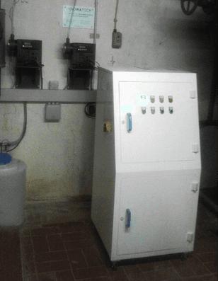 Legionella Control at a 240 bed Hospital using the Aquadron