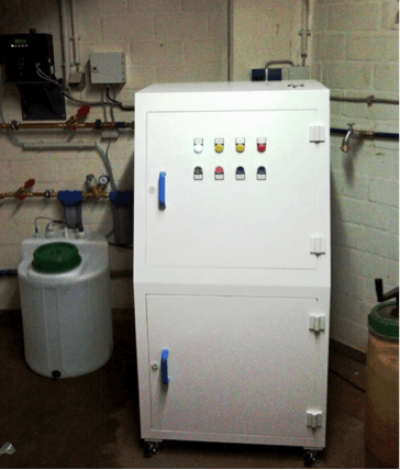 Legionella Control at an out-patient clinic using the Aquadron