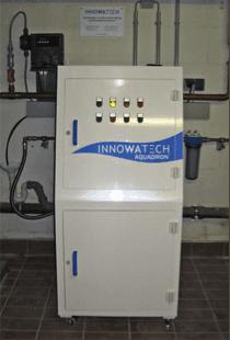 Legionella Control at a 300 bed Hospital using the Aquadron