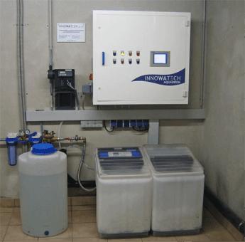 Legionella Control at a radiotherapy clinic using the Aquadron