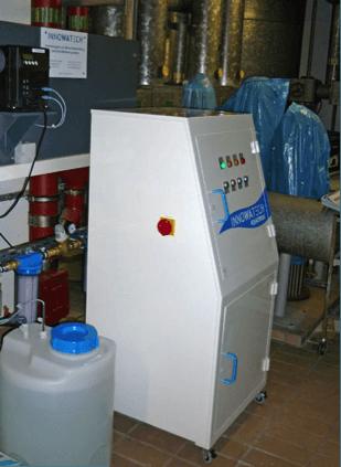 Legionella Control at a 200 bed Hospital using the Aquadron