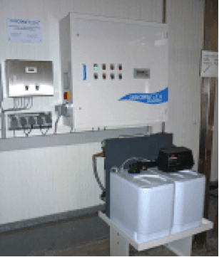 Aquadron beverage production hygiene