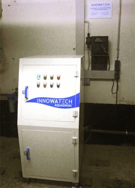 Legionella Control at a 500 bed Hospital using the Aquadron