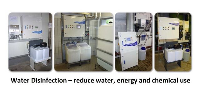 Photos of Aquadron Legionella Control  Systems