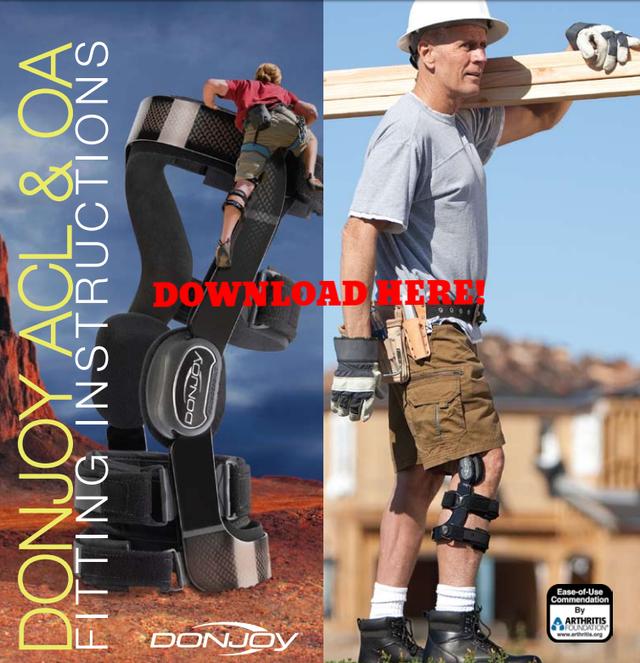 download instructions DonJoy Brace