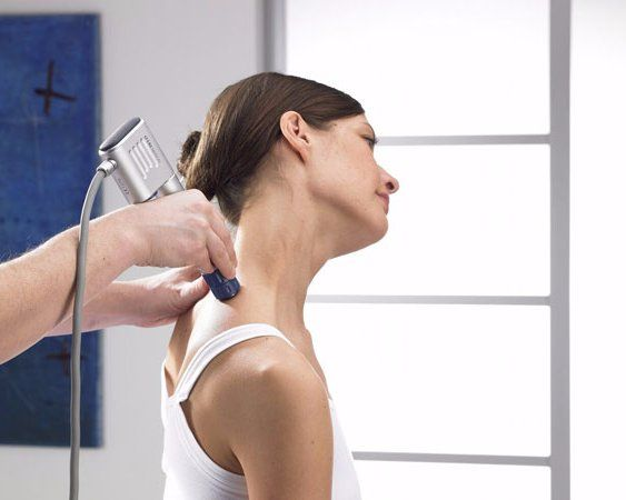 shockwave treatment of neck
