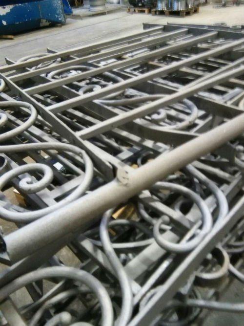 delle creazioni in ferro battuto