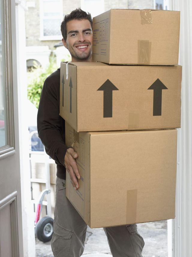 Man working for our pre-packing service in NZ