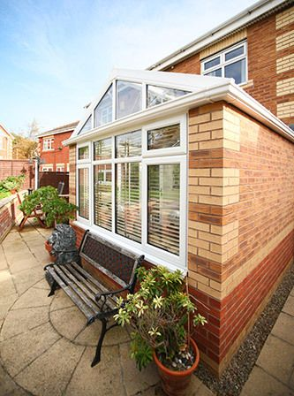 Conservatory with bespoke windows in Portsmouth